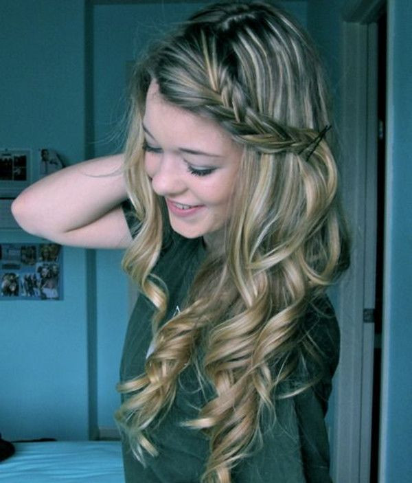 Loose Spiral Braid Dazzling Hairstyles for Thin Hair to Try Now