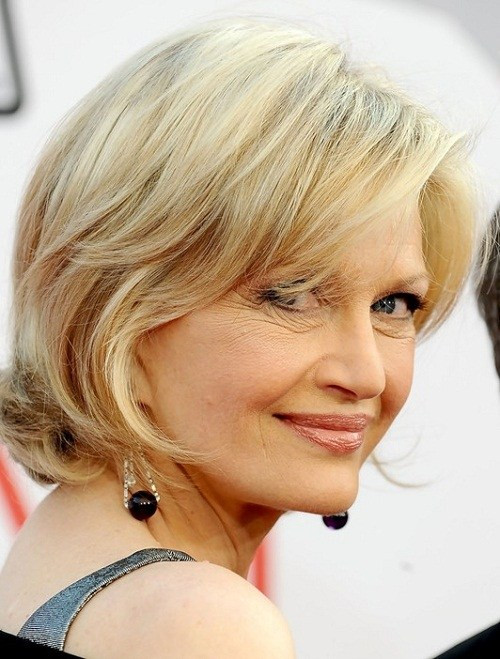Short Layered Bob Haircuts For Older Women 84