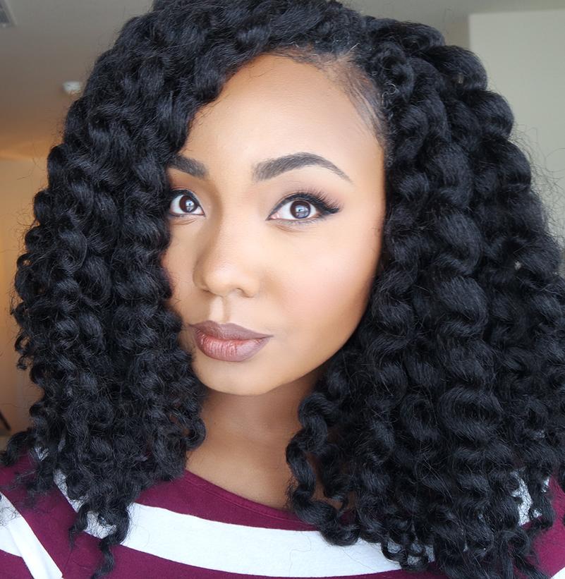 45 Beautiful Crochet Braid Hairstyles Inspiration For Women Sensod
