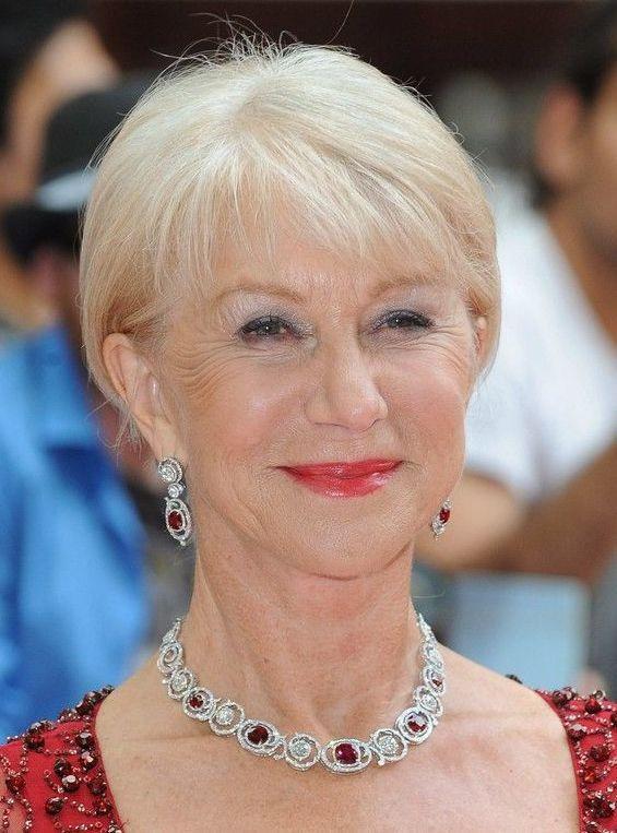 White Blonde for Women Over 60s