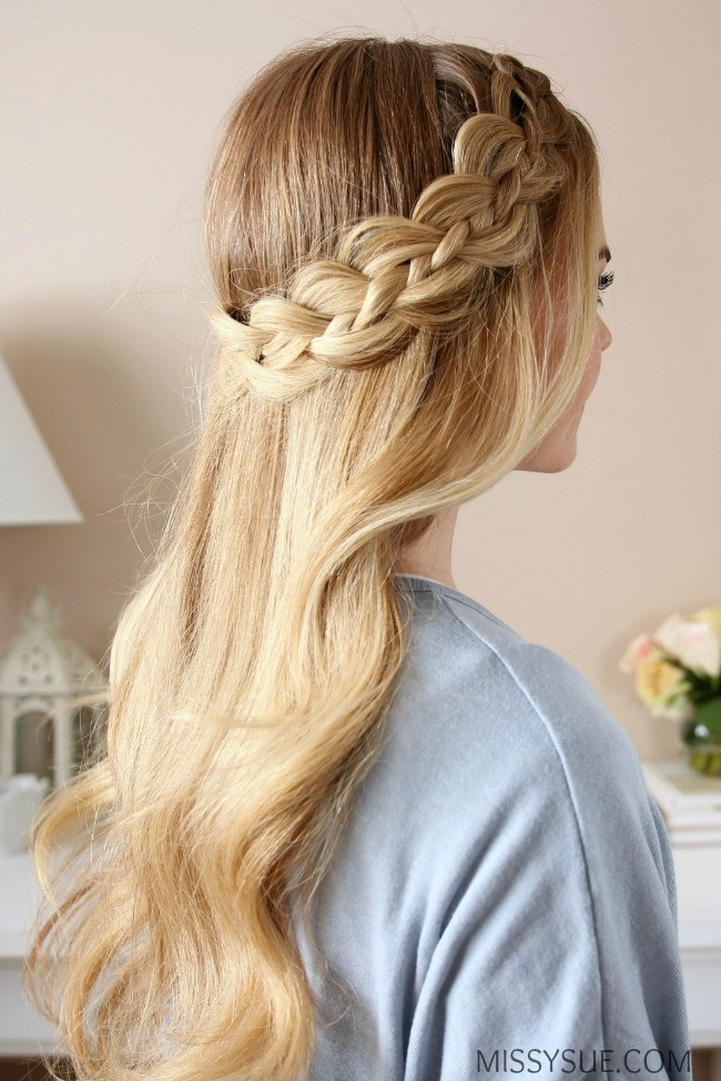 Y-Dutch Braid Girls Hairstyles That Are Seriously Cute