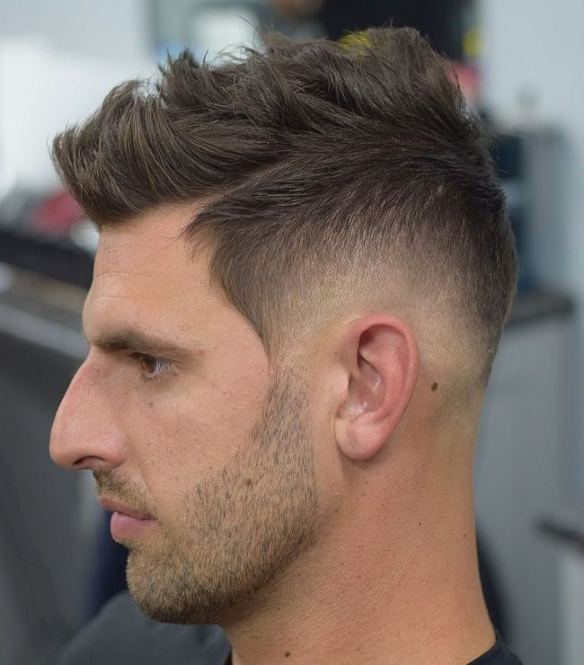 Faux Hawk Best Short Hairstyles for Men