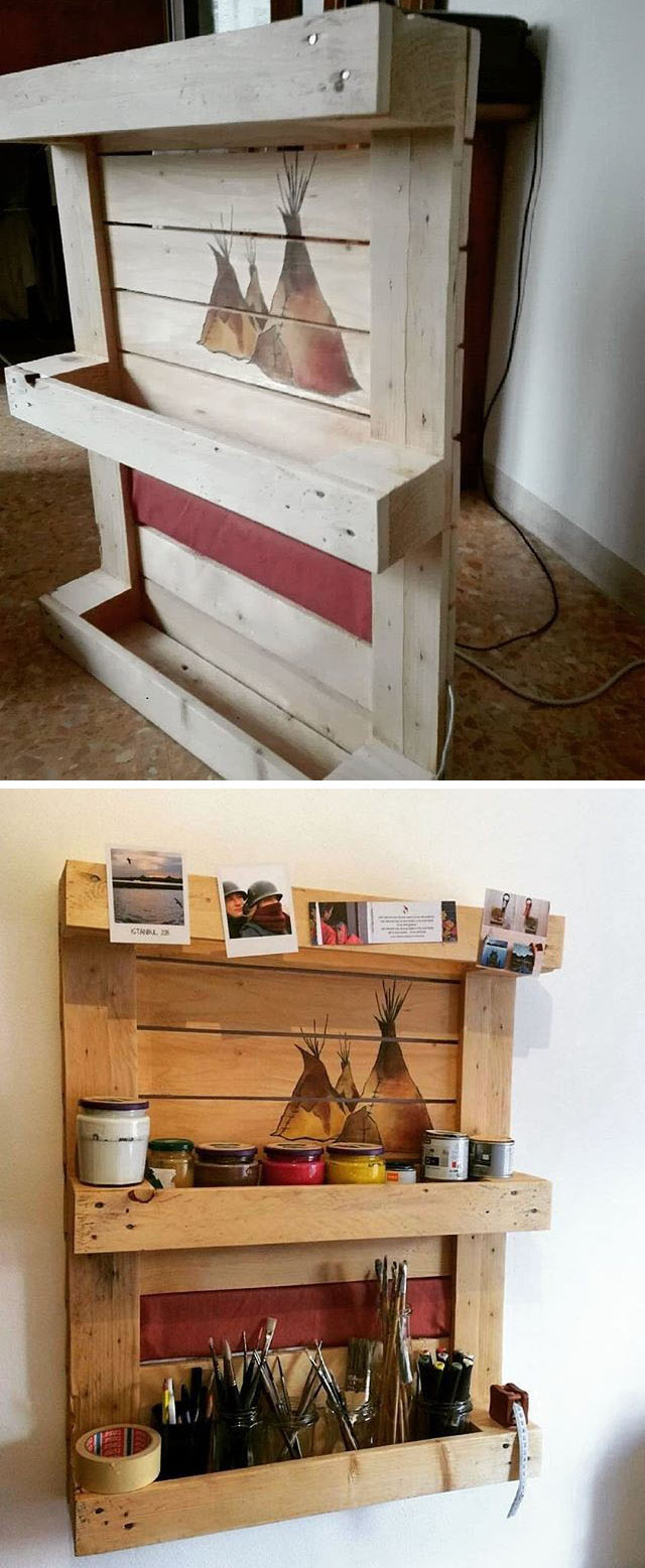 pallet shelf rack
