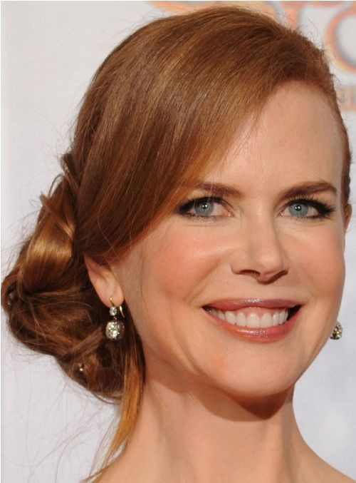 Kidman's Updo Hairstyles for Older Women 2019 You Will Amaze