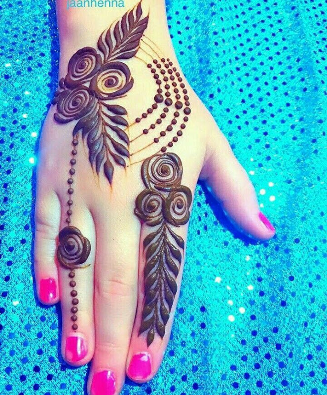 Best Eid Mehndi Designs for hands 2018