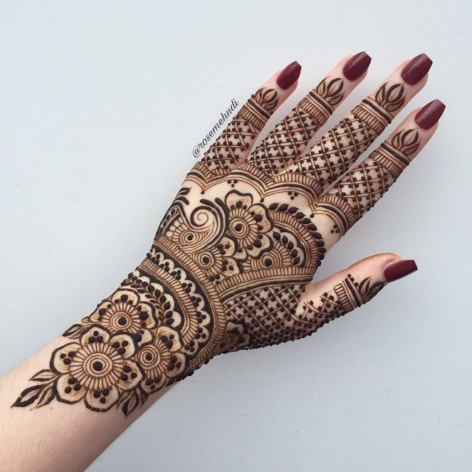 Cool Jewelry Style Mehndi Designs 2018