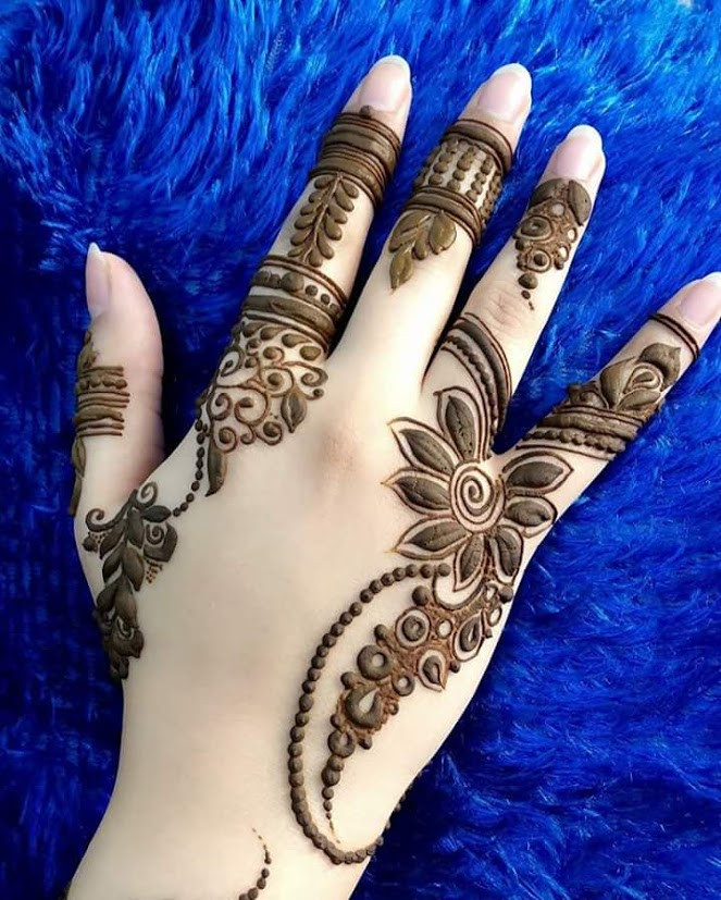 Best New Bracelet Mehndi Design 2017 For Your Wrists: 35+Beautiful And Easy Eid Festival Mehndi Designs For