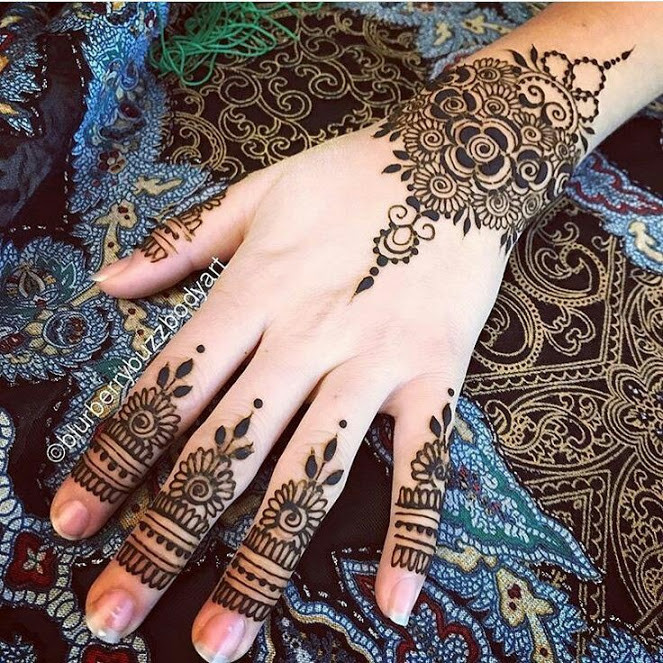 Best eid mehndi designs ideas 2018