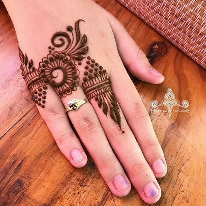 mehndi designs 2018 simple and easy
