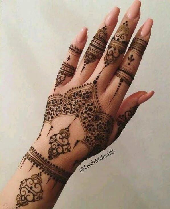 Latest festival Mehndi Designs for hands 2018