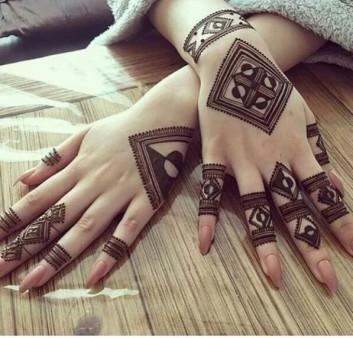 both hands mehndi designs ideas