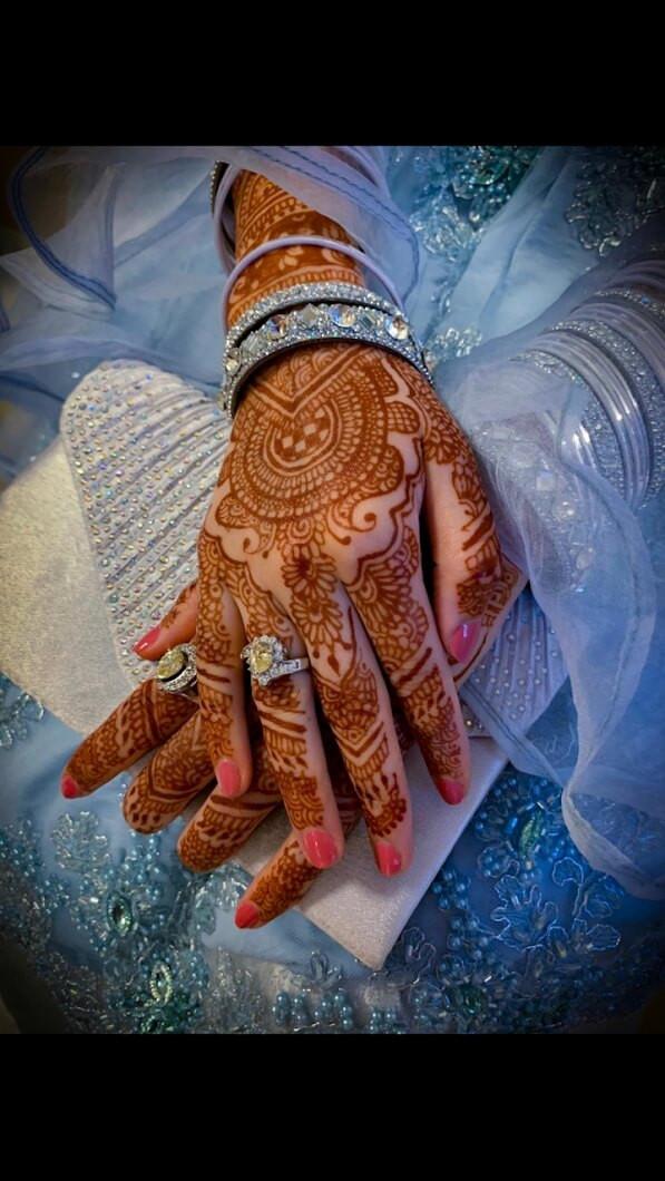 bridal mehndi design ideas