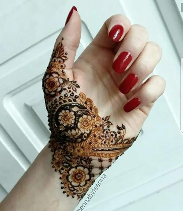 henna designs for indian girls