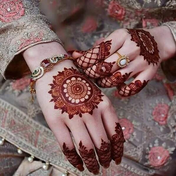 bridal backhand henna designs festival