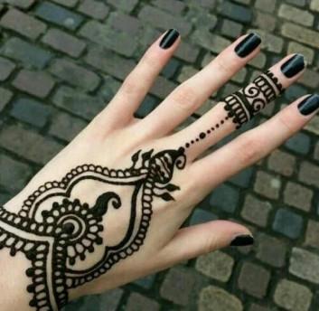 heart touching backhand mehndi designs
