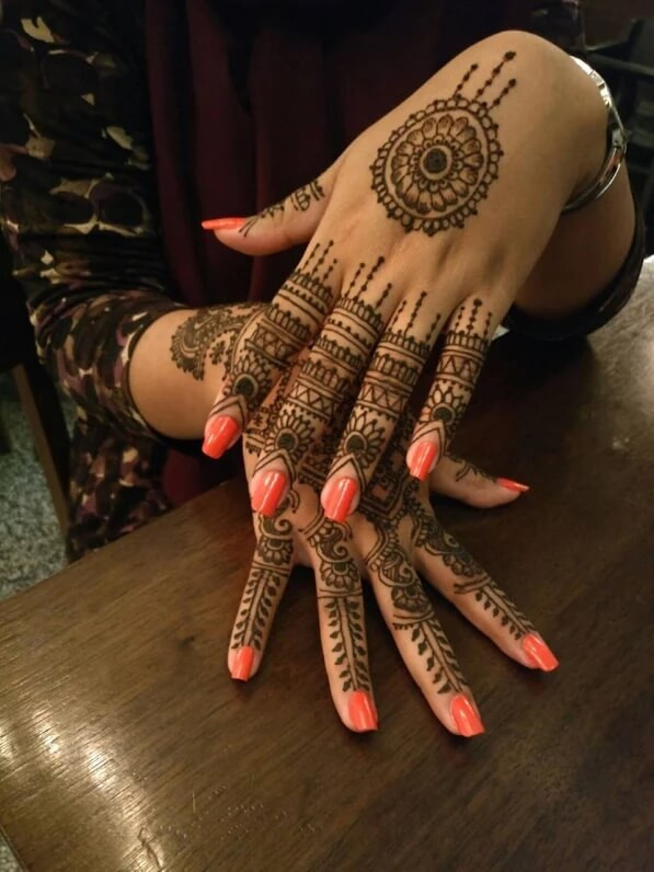 henna designs for indian women