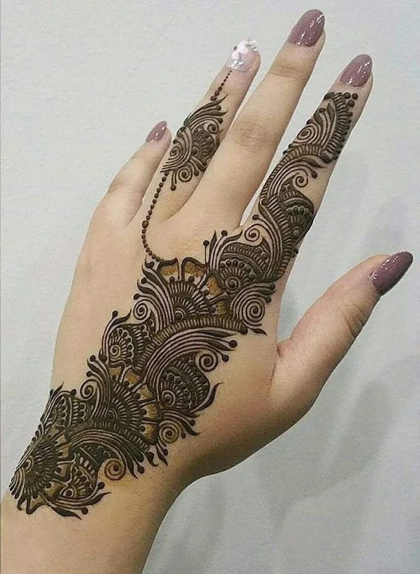 Arabic Henna Designs: 112+ Most Awful Henna Designs For Women In 2019