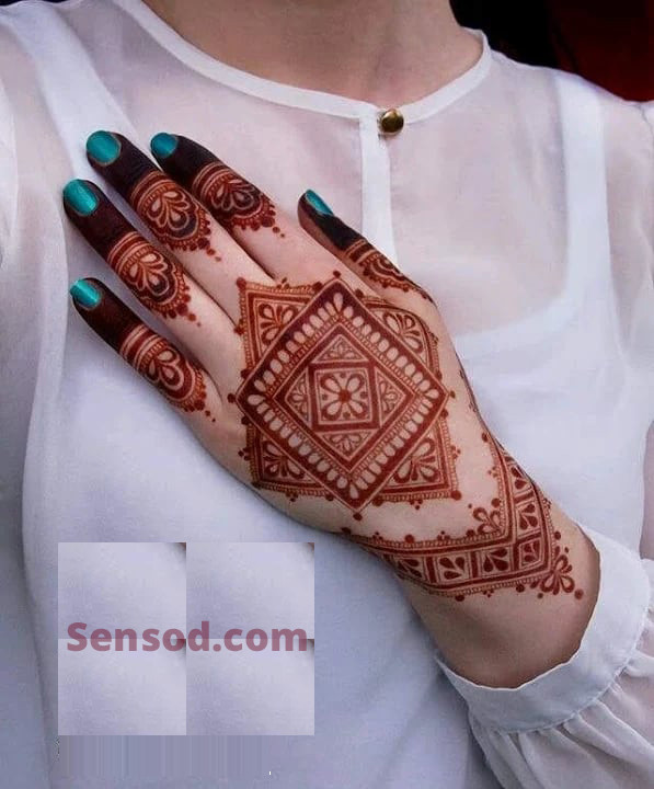 easy to make mehndi design ideas