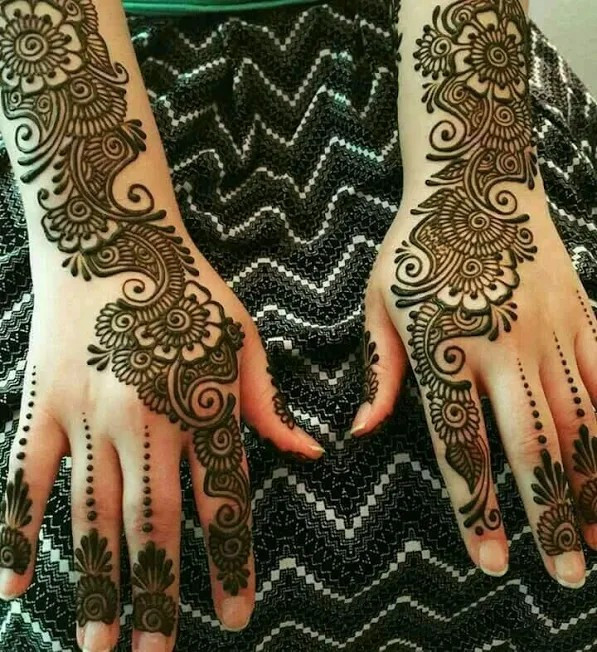 Best Henna designs for the beginners