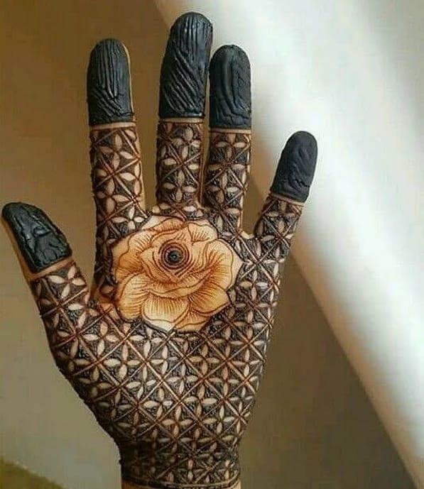 Full fronthand mehndi designs for girls