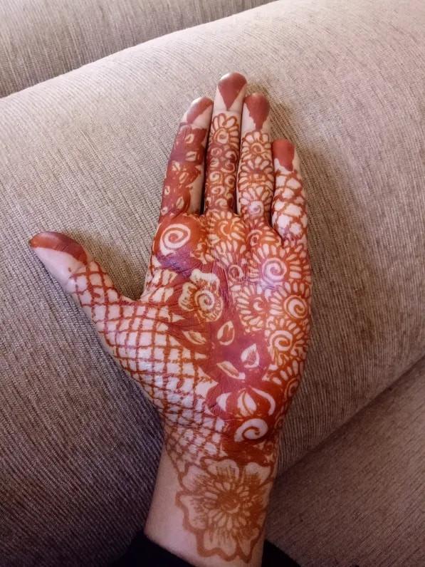 front hand mehndi designs ideas