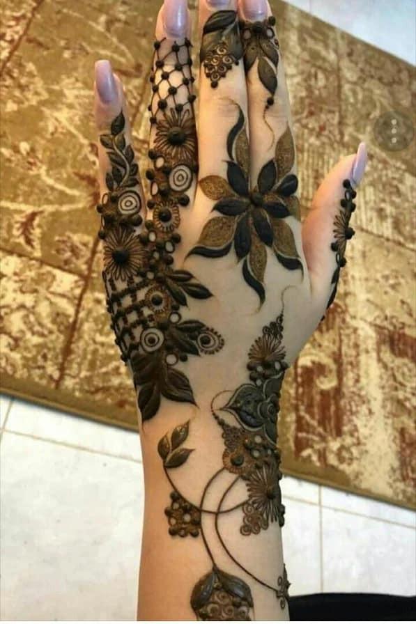 girls best hands mehndi design ideas