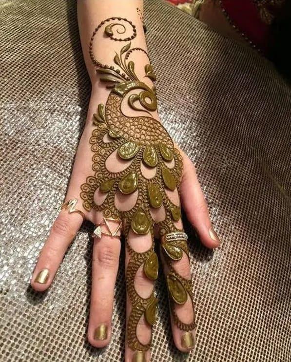 creative hands mehndi design ideas