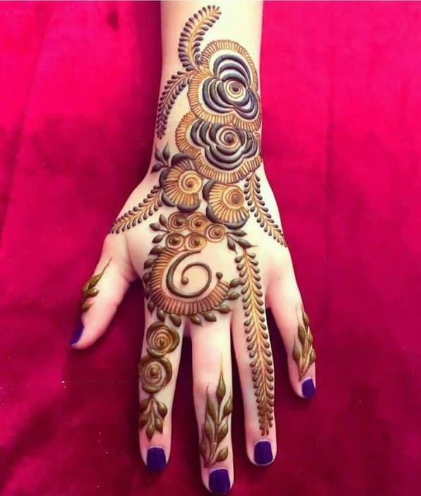 awesome hands mehndi design ideas