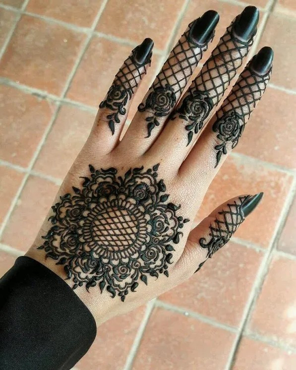 fancy mehndi designs ideas