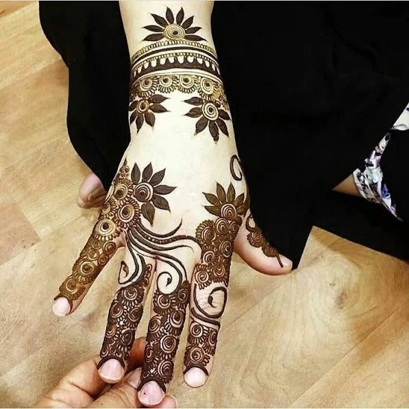 Simple and Easy Mehndi Designs for Eid 2018