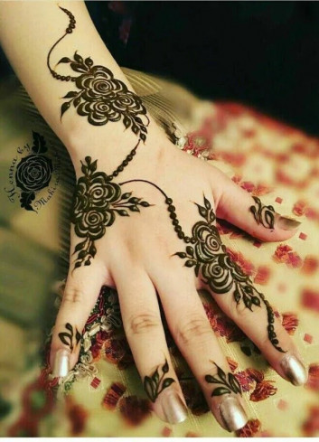 Simple and Easy Mehndi Designs for Eid