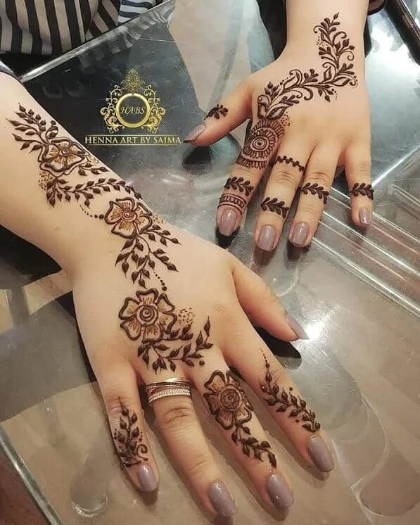 unique mehndi designs ideas