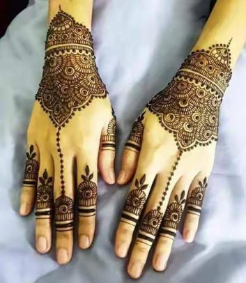 both hands henna designs ideas