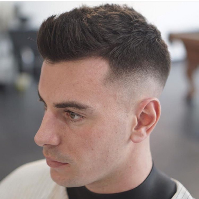 UltraShort Textured Top Haircut Cool & Stylish Hairstyles for Men