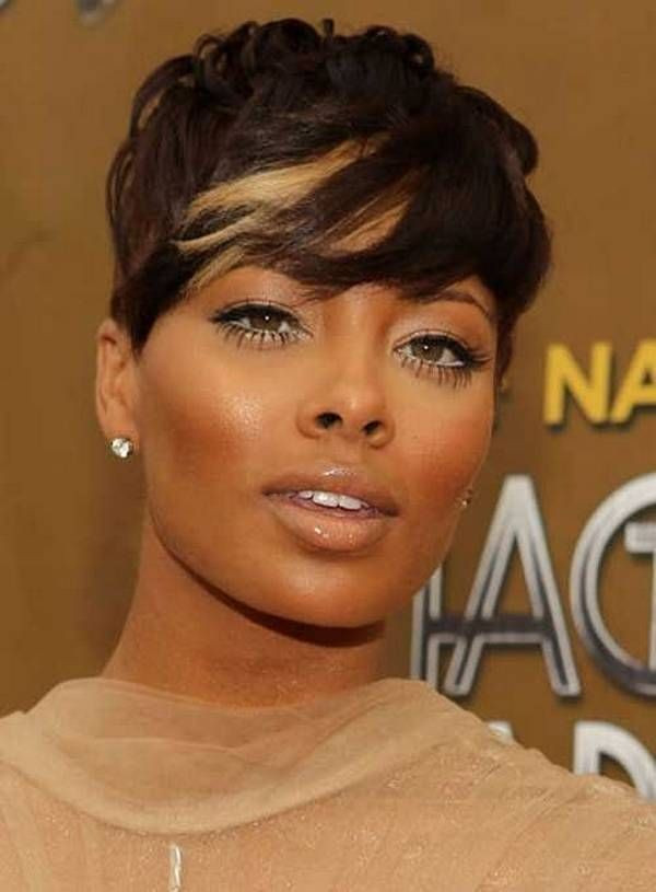 Elegant Short Hairstyle for Black Women