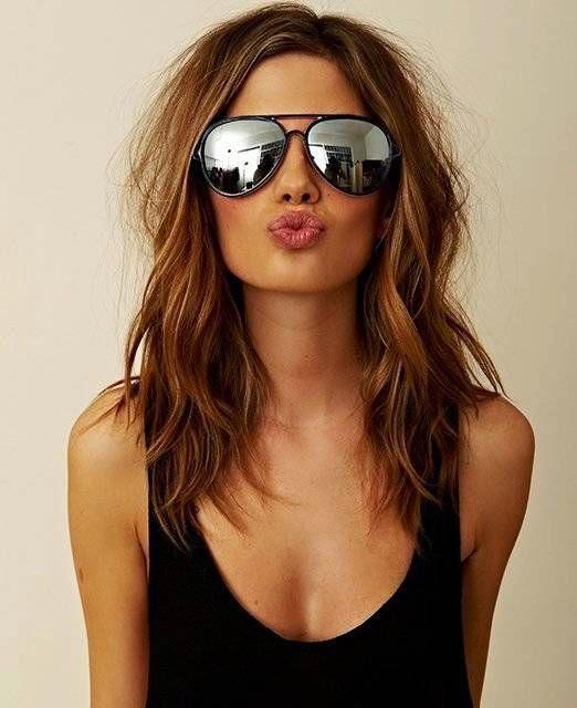 Aka the Lob Short Bob Haircuts & Hairstyles for Women