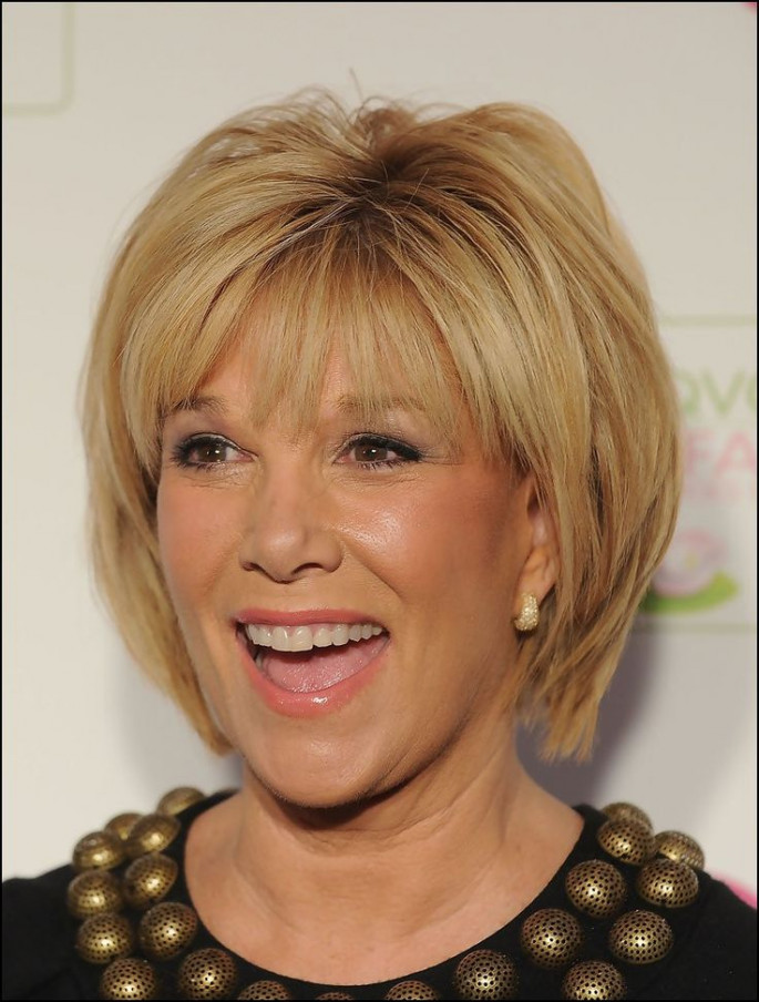 Layers Hairstyles for Women Over 60s