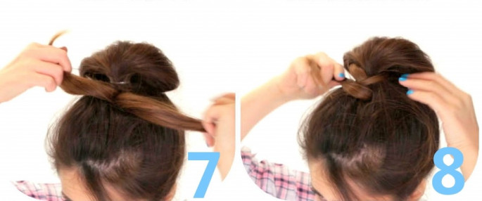 In Just 5 Minutes Braided Bun Hairstyles