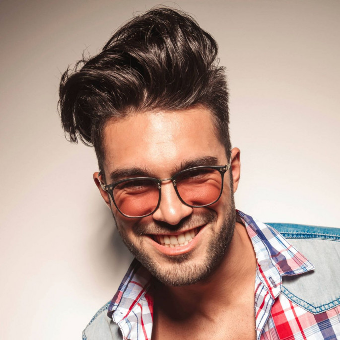 Geeky & Grand Medium Length Hairstyles For Men