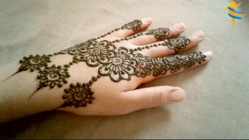 backhand kids mehndi designs