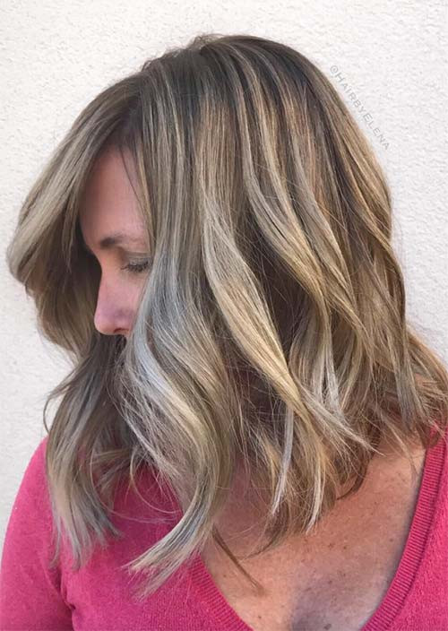 FRINGED BLOCK COLOR FOR LONG HAIR