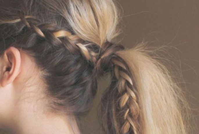 Sleep In French Braid Hairstyles For Medium hair