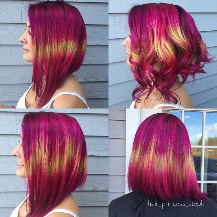Trendy Hair Color 2019: 31+ Unique & Cool Hairstyles 2019