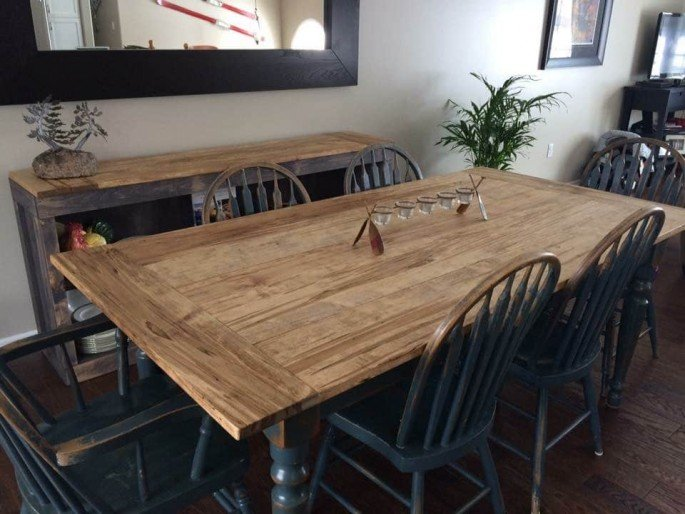 9 Pallet Dining Table Ideas On Sensod