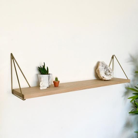 Spruce Up your Home with Oak Shelves