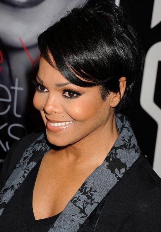 Elegant Short Hairstyle for Black Women