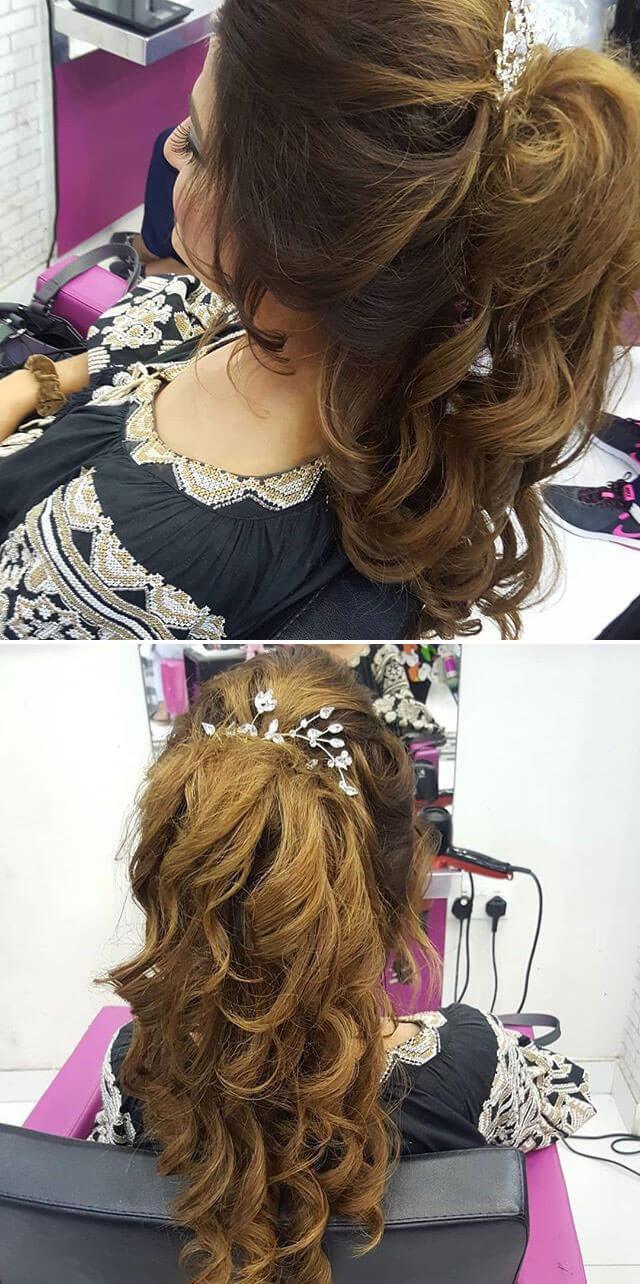Bridal women hairstyles