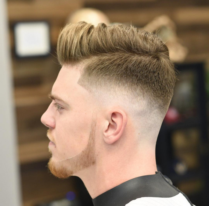 Quiff Mid Bald Fade Best Short Hairstyles for Men