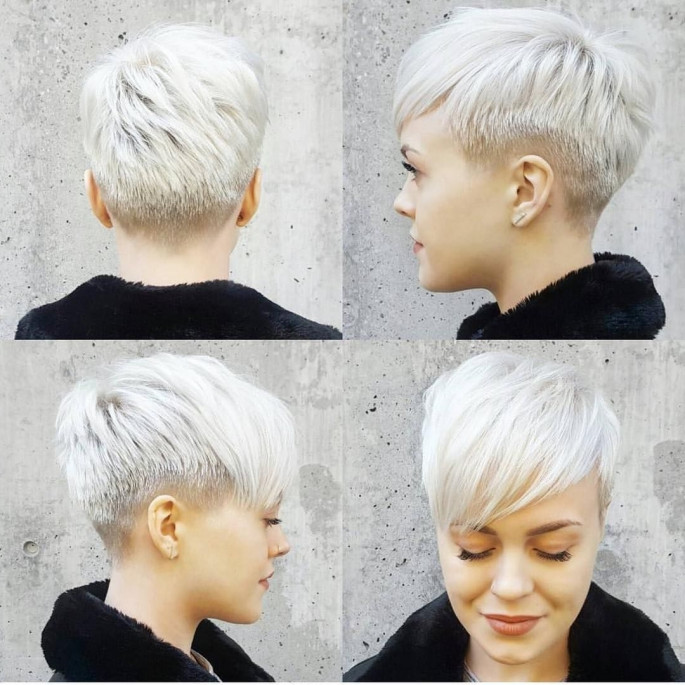 A Slightly Edgy Cut Hairstyles Short Hairstyles Ideas for Women