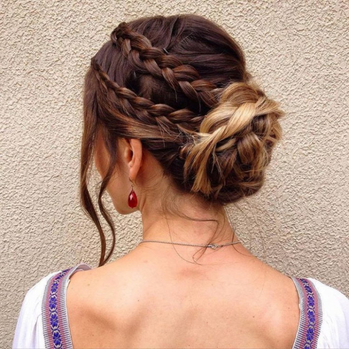 Braided Bun Hairstyles That You Would Love To Try